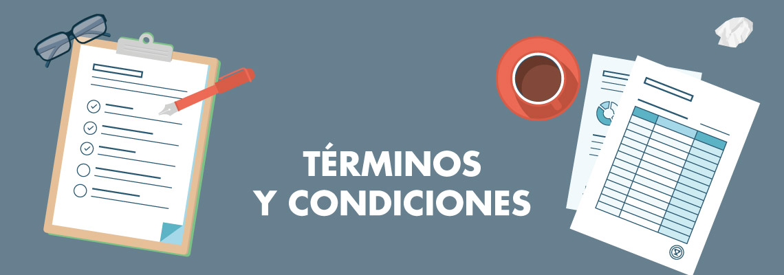 Cabecera Términos y condiciones